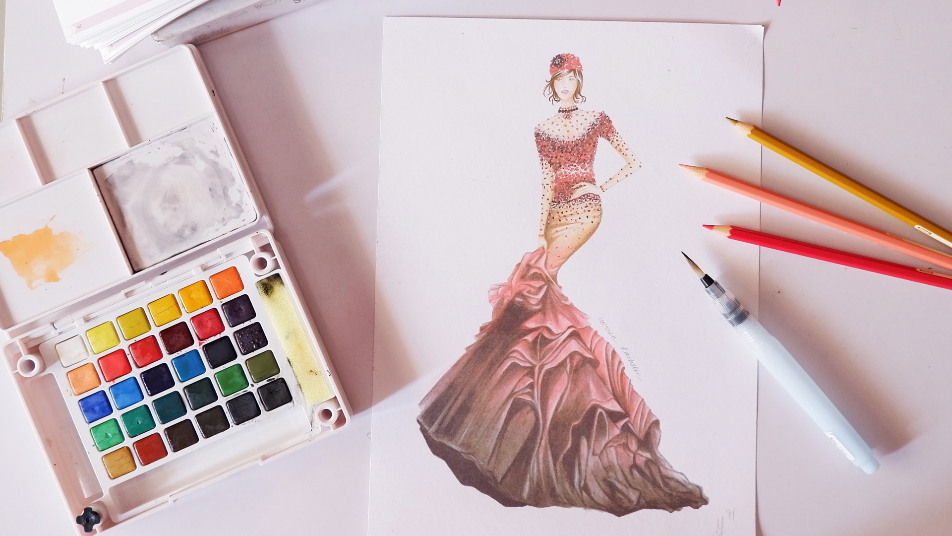 Advance Fashion Illustration